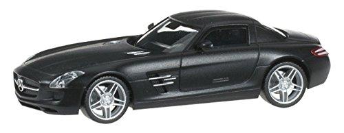 1/87 メルセデスベンツ SLS AMG(マットブラック) 024419-004