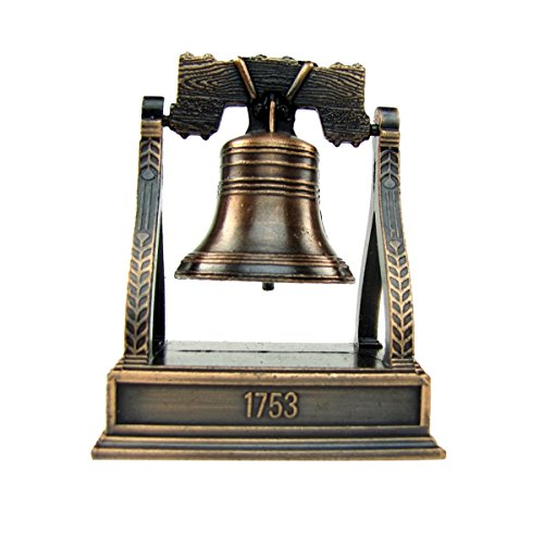 City-Souvenirs Bronze Metal Liberty Bell Miniature Replica Die Cast Novelty Pencil Sharpener