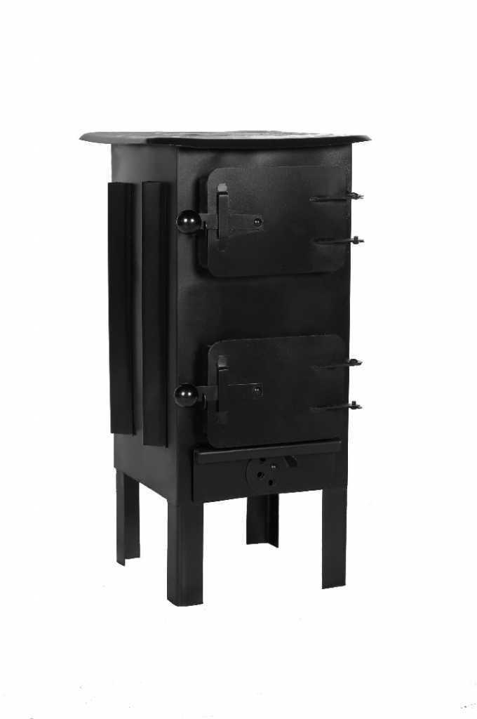 Ofen, Kaminofen, Werkstattofen, Garagenofen, Farbe: schwarz GT5
