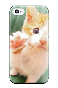 New Fashionable ZippyDoritEduard PFfrTzt29185pcCyr Cover Case Specially Made For Iphone 4/4s(cute High Five Cat)