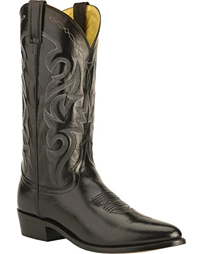 Dan Post Men's Mignon Leather Cowboy Boot Medium Toe Black 10.5 B (M) US