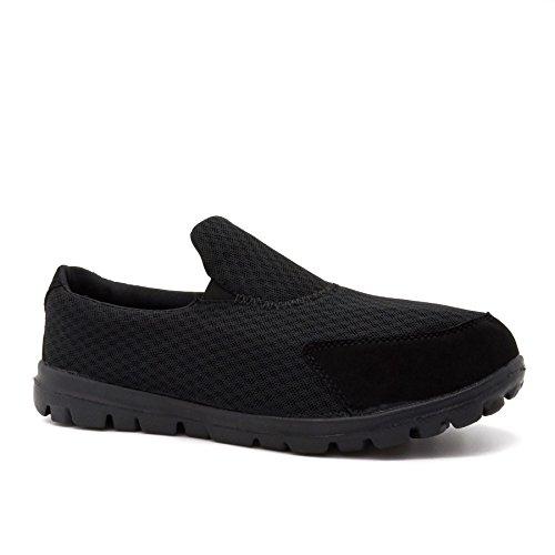 London Footwear ,  Herren Sneaker Low-Tops Schwarz