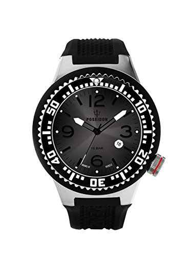 Kienzle Poseidon Men's L Slim Watch - Black & Gun
