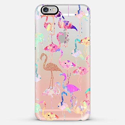 Casetify Flamingo Party - iPhone 6 Plus Case (Frosty White)