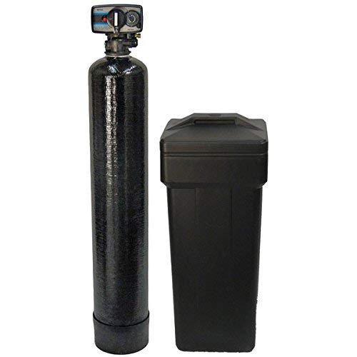 Fleck 48k 100% Soft Water Softener Metered 5600 Mechanical 48,000 Grains Ships Loaded, 48, 000, Black