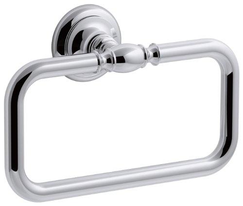 KOHLER Artifacts Towel Ring in Polished Chrome K-72571-CP