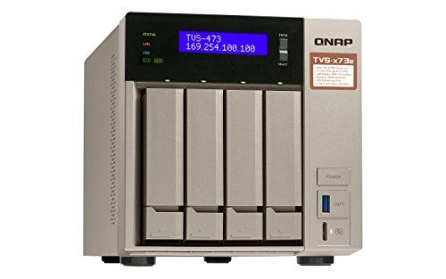 QNAP TVS-473E Ethernet Torre Gris NAS - Unidad Raid (Unidad de ...