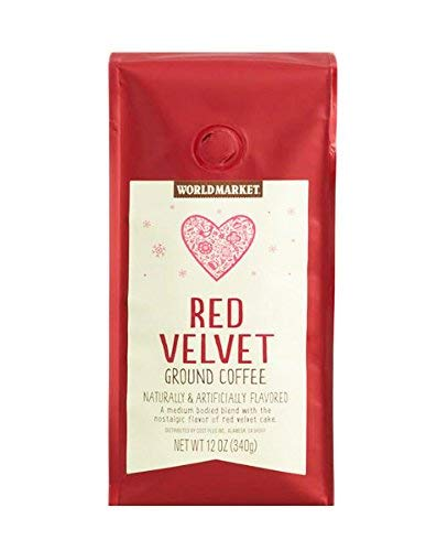 (World Market Holiday Limited Edition Ground Coffee (Red Velvet))