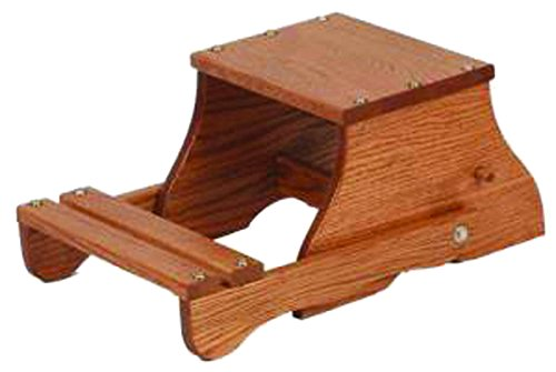 Convertible Step Stool - Oak Child's Convertible Child's Chair/Step Stool
