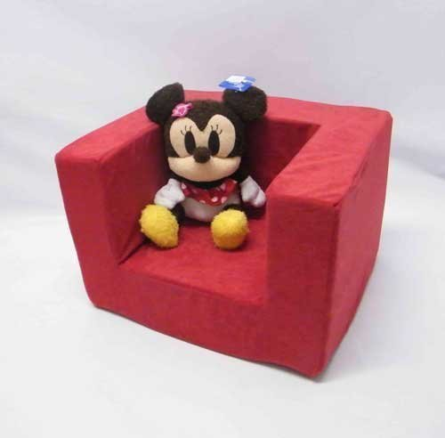 Matching Bedroom Sets Childrens Single Foam Armchair Replacement Slip COVER ONLY in Red.
