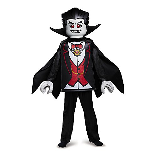 Disguise Lego Vampire Deluxe Costume, Black, Large -