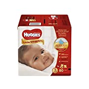 Huggies Little Snugglers Diapers - Size 1-80 ct