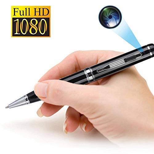 Small Pen Camera, 1080P FHD Camera Recorder with HD PC webcam, High Capacity Lithium Battery Perfect Gift
