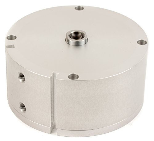 """Fabco-Air A-1221-X-E Original Pancake Cylinder, Double Acting, Maximum Pressure of 250 PSI, Switch Ready with Magnet, 4"""" Bore Diameter x 1"""" Stroke"""