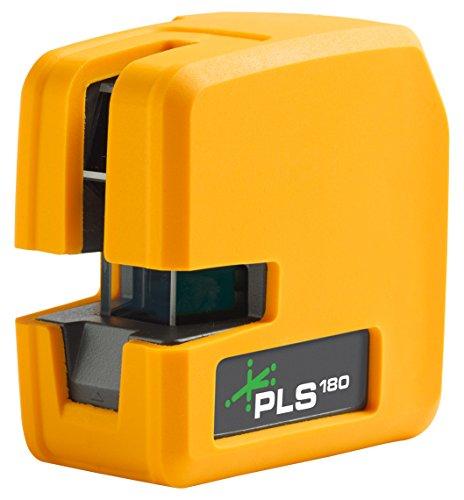 New PLS 180 Green Cross Line Laser Level PLS-60596N by Pacific Laser - Laser Pls3