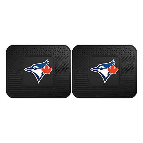 - CC Sports Decor MLB Toronto Blue Jays Heavy Duty Rear Car Floor Mats, 2-Piece Set
