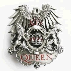 amazoncom queen band belt buckle clothing
