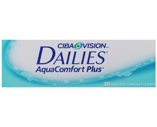 Dailies AquaComfort Plus, 30er, Radius: 8.70, Durchmesser: 14.00, Dioptrien: -2.50