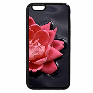 iPhone 6S / iPhone 6 Case (Black) ROSE FLOAT