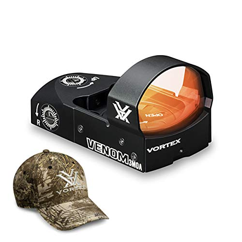 Vortex Optics Venom Red Dot Sight - 3 MOA Dot with Vortex Hat