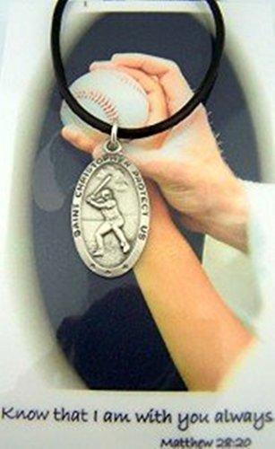 Athlete Protection Baseball Necklace Christopher product image