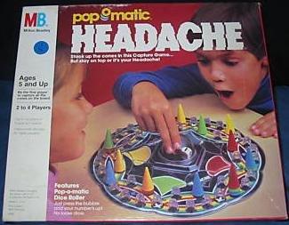 Pop-o-matic Headache Game
