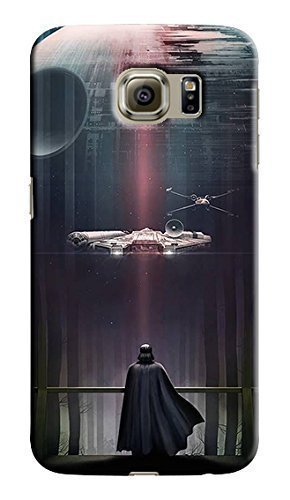 CASE LOCK LTD -SW Darth Vader Storm Trooper Han Solo Yoda R2D2 Jedi -Hard Rubber Case for NEW SAMSUNG GALAXY S7 EDGE, Made in the USA -Style 27
