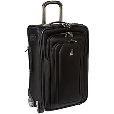 Travelpro Luggage Crew 9 22-Inch Expandable Rollaboard Suiter Bag, Black, One Size