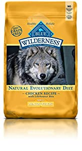 BLUE Wilderness Adult Healthy Weight Grain Free Chicken Dry Dog Food 24-lb