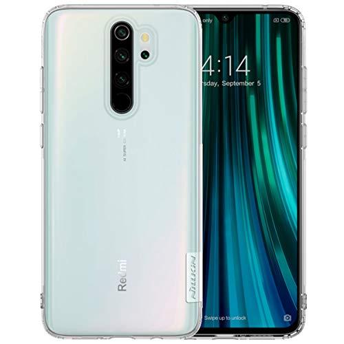 Nillkin Nature Ultra Thin Soft Silicone TPU Back Cover Case for Xiaomi Redmi Note 8  White