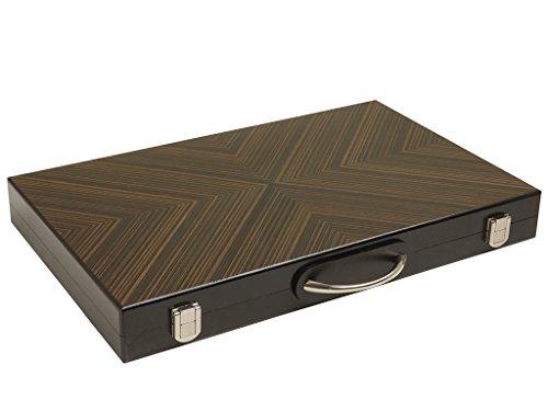 Orion Craft 18-inch Wood Backgammon Set - Retro Board ()