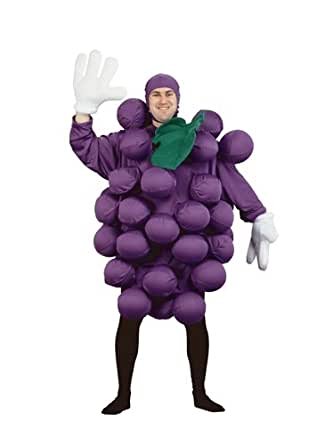 (verde) uvas tamaño de la funda de disfraz para adulto estándar