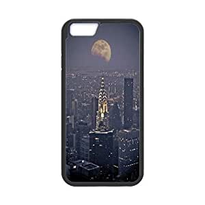 Personalized New York City Skyline at Night Iphone6 Plus Case, New York City Skyline at Night Customized Case for iPhone 6 plus 5.5 WANGJING JINDA