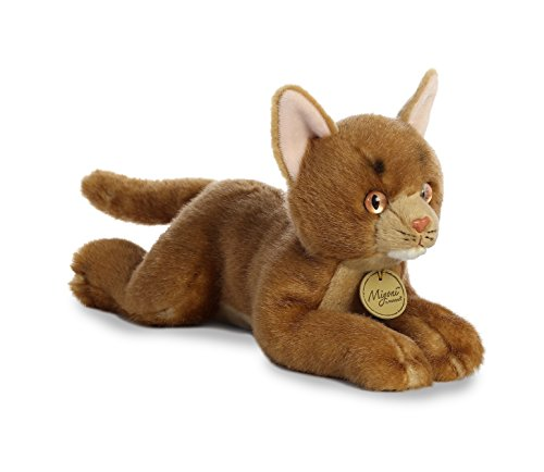 Aurora World Miyoni Plush Toy Animal, Abyssinian Cat