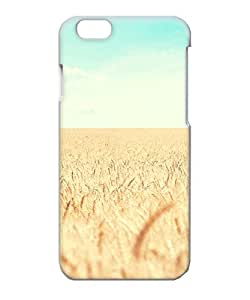 VUTTOO Iphone 6 Case, Golden Wheat Field Snap-on Hard Case for Apple iPhone 6 4.7 Inch
