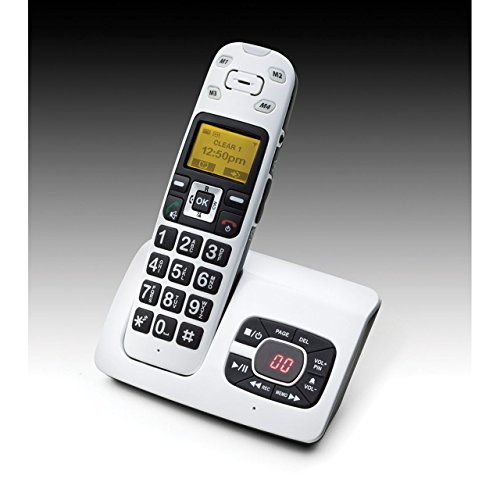 Clearsounds CS A500 Cordless Answering Machine
