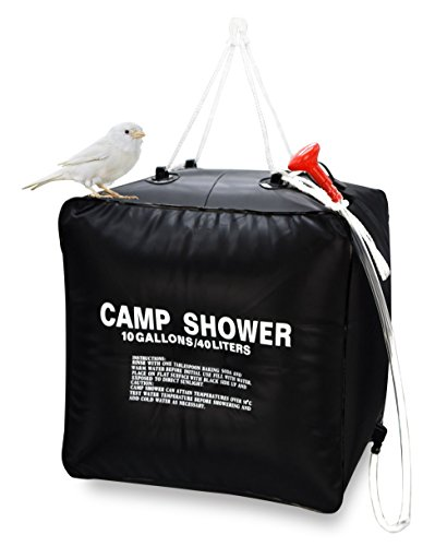 Zoeson 10 Gallon Camping Shower Bag for Hiking ...