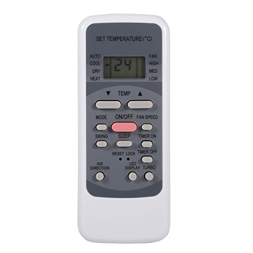 Zerone Controlador Universal del Reemplazo Teledirigido del Acondicionador de Aire Inteligente de la Nueva Manera para Midea...