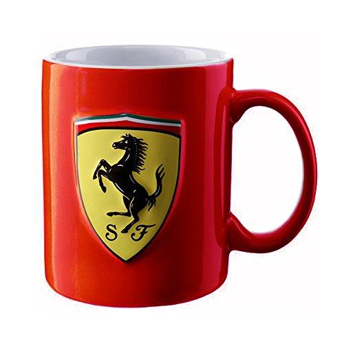 (Ferrari Scudetto Classic shield mug ( Red ))
