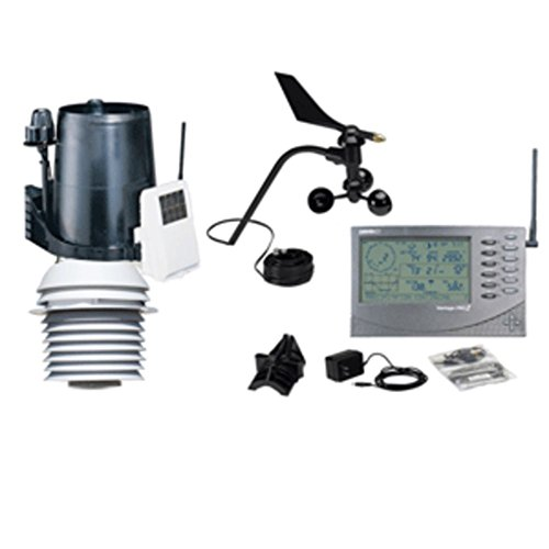 Instruments Cables Davis - Davis 6163 Vantage Pro2 Wireless Weather Station +24-Hour Fan Aspirated Radiation Shield Electronics Computers Accessories