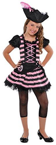 Girls Sweetheart Pirate Costume - Small