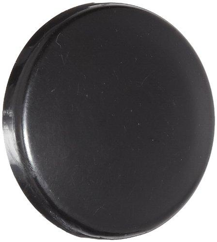 Set Screw Hole 1-5//8 Head Siemens 52RB3D1 Mushroom Head Cap Black 1-5//8 Head Plastic