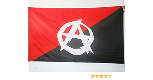 AZ FLAG Bandera del ANARQUO SINDICALISMO SIMBOLO ANARQUISTA 90x60cm para Palo - Bandera ANARQUO SINDICALISTA - ANARQUIA 60 x 90 cm: Amazon.es: Hogar