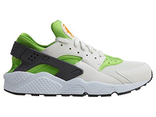 Nike Men's Air Huarache Actn Green/Vvd Orng Phntm Wht Running Shoe 10.5 Men US by NIKE (Image #2)