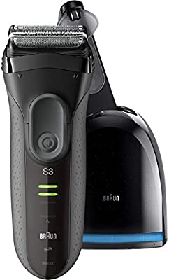 Braun Series 3 3050 Electric Shaver for Men with Cleaning Center ... fb37c1be3a