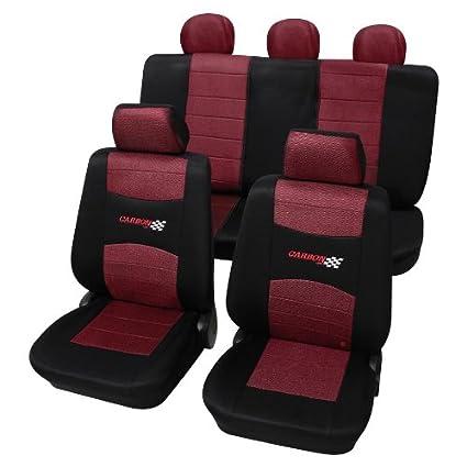 Amazon.es: apta para Seat Marbella Fundas de asiento Carbon ...