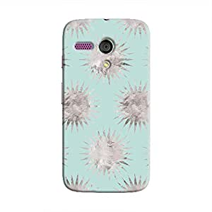 Cover It Up - Silver Blue Star Moto G Hard Case