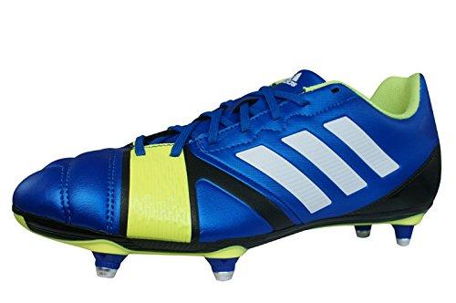 ADIDAS Nitrocharge 3.0 SG Bota de Rugby Caballero Amarillo-Azul-Blanco