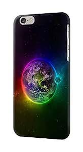 E2570 Colorful Planet Funda Carcasa Case para IPHONE 6S PLUS