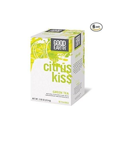 Good Earth Tea Citrus Kiss (Pack of 6)